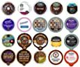 Custom Variety Pack Coffee Sampler for Keurig K-Cup Brewers, 20 Count