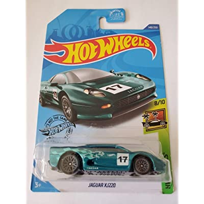 Hot Wheels 2020 Hw Exotics Jaguar XJ220, Green 148/250: Toys & Games