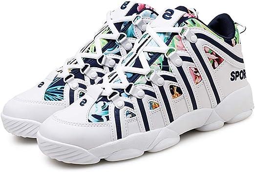 LH Calzado Deportivo de Invierno, Zapatillas Antideslizantes para Correr, Zapatillas de Baloncesto de Tela de Alta Ayuda,37: Amazon.es: Hogar