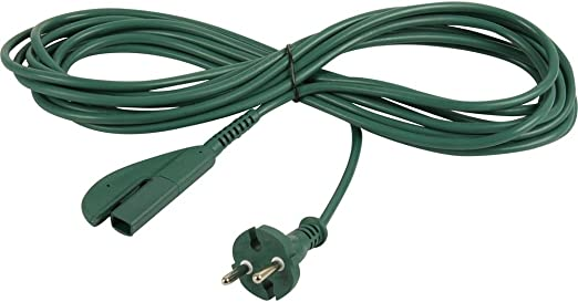10 Meter Stromkabel geeignet für Vorwerk Kobold 135 /& 136