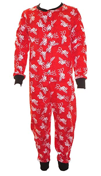 Liverpool Football Club Onesie pijamas 5-6 años