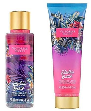 c059bb1543aff Amazon.com : Victoria's Secret Electric Beach Bundle Fragrance ...