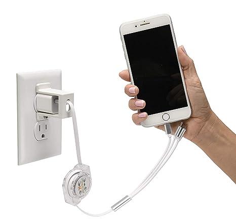 Amazon.com: USBthere – Bloqueo de cargador de teléfono ...