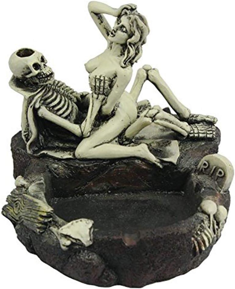 WPFC Creative Skull Aschenbecher Aschenbecher Girl Skull und Fun Taste The Living Room Decoration