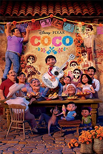 Coco - Disney/Pixar Movie Poster/Print