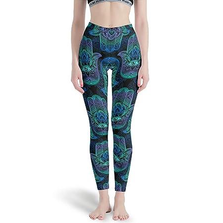 CUCIN-Legging Hamsa Hand Classics - Pantalones de Yoga ...