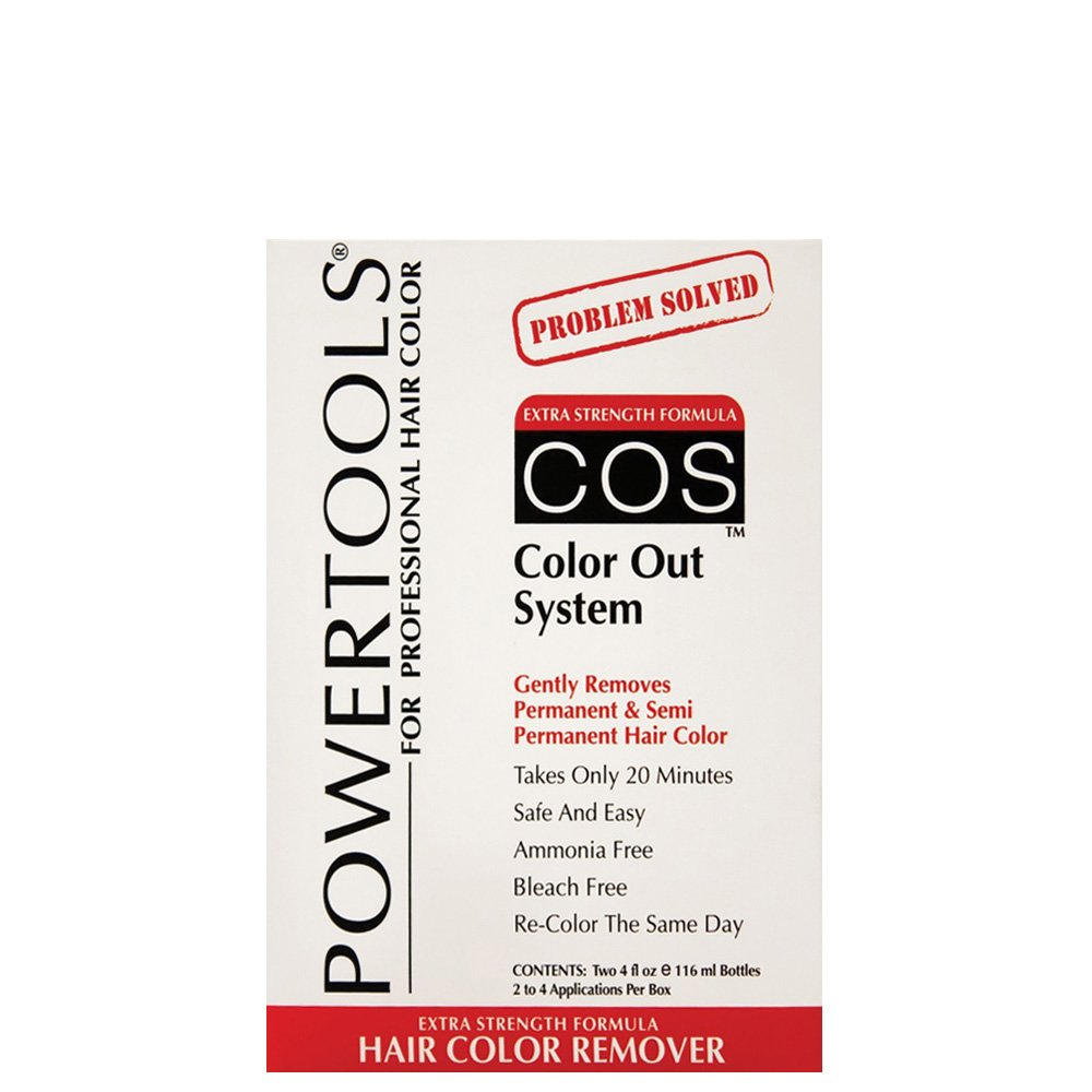 Amazon Powertools Cos Color Out System Kit Permanent Hair