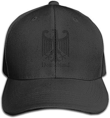 Deutschland Germany Fashion Adjustable Cotton Baseball Caps Trucker Driver Hat Outdoor Cap Black