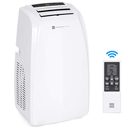 Best Choice Products 14,000 BTU Portable Air Conditioner Cooling and  Heating Unit for Up to 650 Sq  Ft w/Remote Control