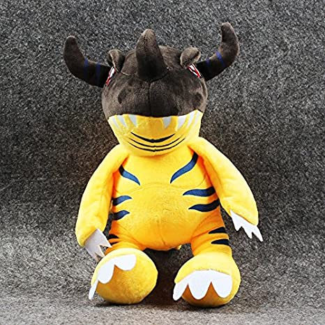 New Arrival 32cm Digimon Greymon Plush Toy Super Soft Stuffed Toy Kawai