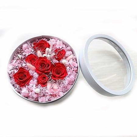 WANG LIQING Preservado Flor Fresca Rosa Festivo Preservado ...