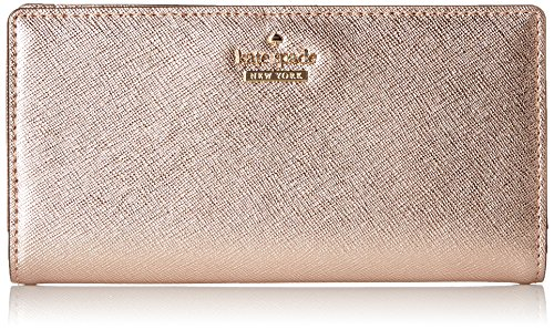 kate spade new york Cameron Street Stacy Wallet, Rose Gold, One - Kate Rose Gold Spade