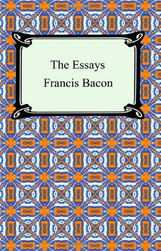 summary of bacons essays Print this essay download essay get full essay francis bacon examines the benefits and effects of studies, maintaining that when studies are balanced by experience, diverse studies may help counteract personal imperfections.