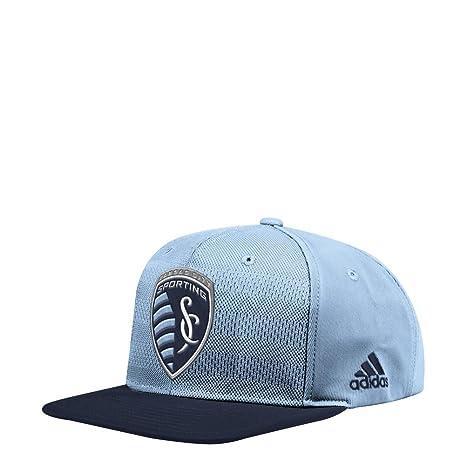 192b393c Amazon.com : adidas Sporting Kansas City Snapback Hat Authentic Flat ...
