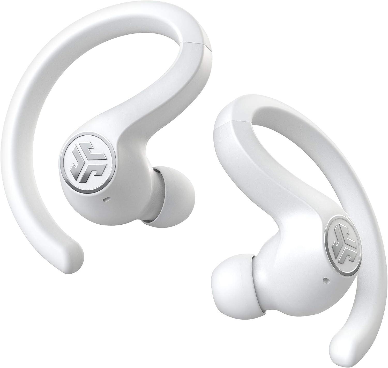 Jlab Audio Jbuds Air Sport True Wireless Kopfhörer In Ear Bluetooth Sportkopfhörer Mit Usb Ladecase Be Aware Audio Ip66 Schweißresistenz Und Einstellbarer Custom Eq3 Sound Weiß Musikinstrumente