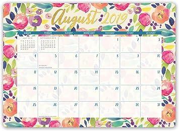 2020 Full Color Mini Desk Pad Calendar
