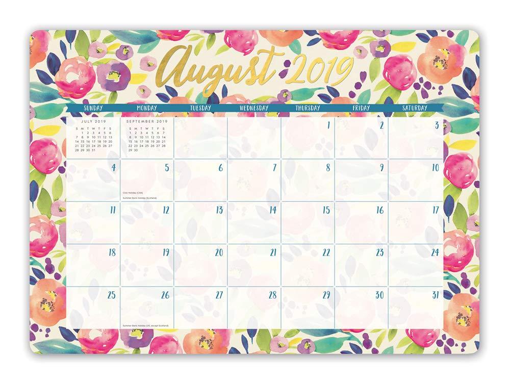 Calendar Tuesday December 18 2020 Amazon.: Orange Circle Studio 2020 Decorative Desk Blotter