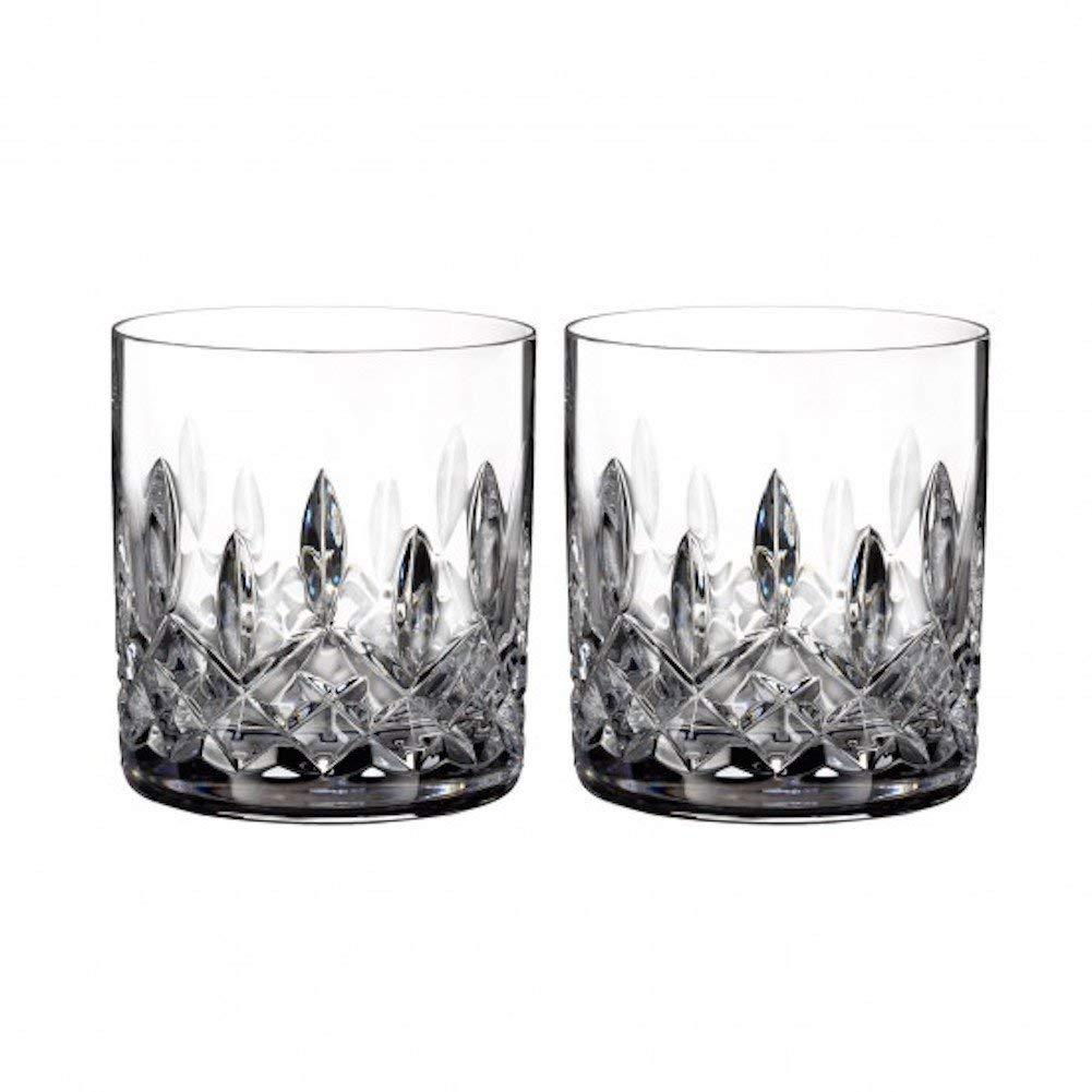 Waterford 40003430 Lismore Straight Sided Tumbler, S/2, Clear by Waterford