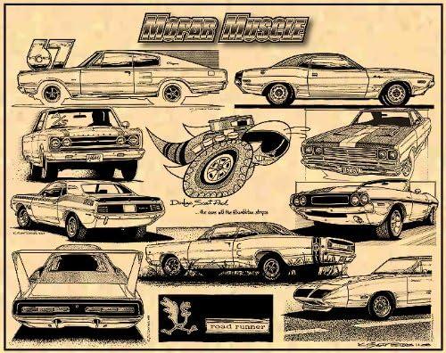 Mopar Muscle Cars Tribute
