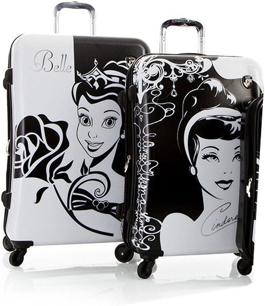 Heys Disney Luggage Set 2-Piece Princess Belle 30 Princess Cinderella 26