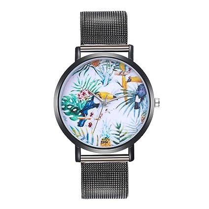 Relojes de Navidad para mujer a la venta. Reloj de cuarzo analógico con correa de