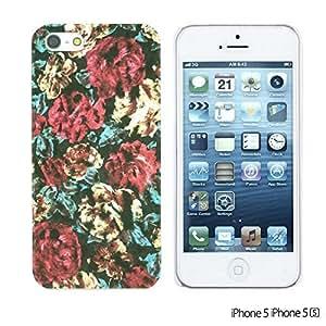 alTM - Flower Pattern Hardback Case forDiy For SamSung Galaxy S6 Case Cover Floral pattern