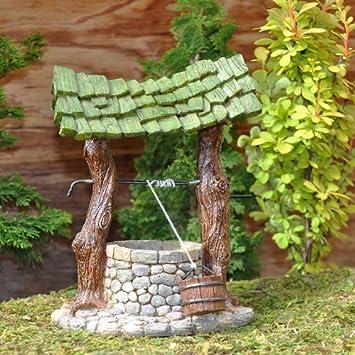 Miniature Fairy Garden Wishing Well
