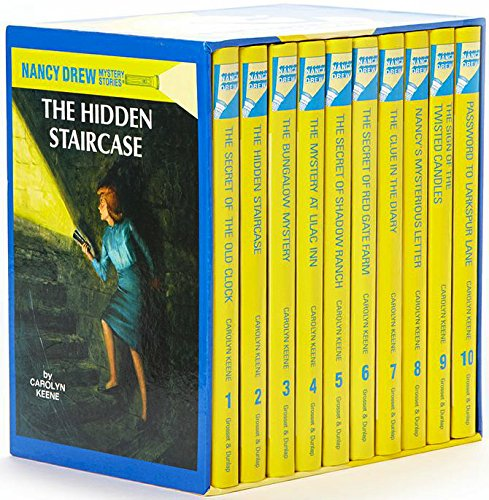 Nancy Drew Mystery Collection Vol. 1-10 (Boxed Set of 10 books) [Hardcover]