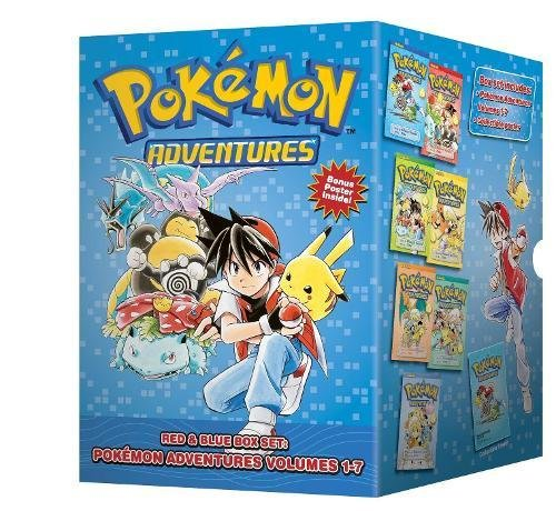 Pokmon Adventures (7 Volume Set - Reads R to L (Japanese Style) for all ages)