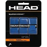 HEAD Super Comp Racquet Overgrip - Tennis Racket Grip Tape - 3-Pack, White