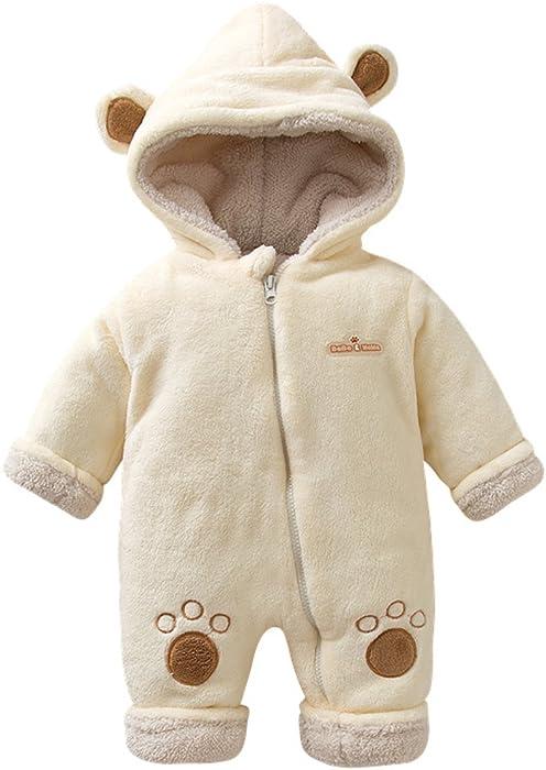 Bebone Baby Strampler Jungen M/ädchen Overall Winter Babykleidung