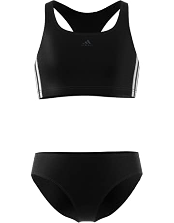 621fa26182 adidas Girls  Fit 2pc 3s Y Swimsuit