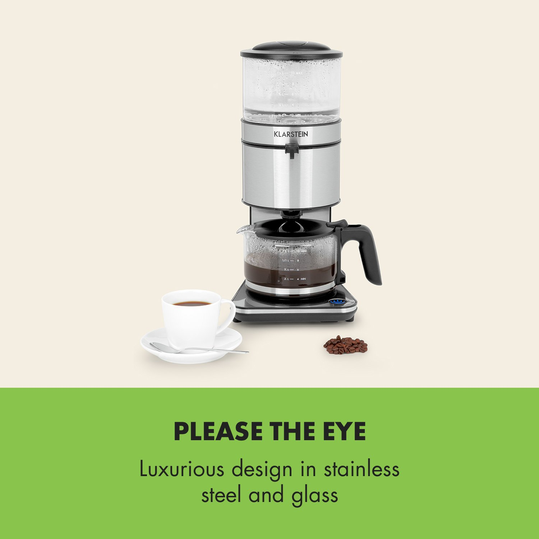 KLARSTEIN Soulmate Cafetera con filtro de goteo - 1800W, 1,25L ...