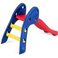 HOMGX Toddler Slide, Freestanding ToddlerFolding Slide, Portable Indoor Outdoor Infant Easy Climb Stairs Slide, Slide Gift for Kids Boys and Girls