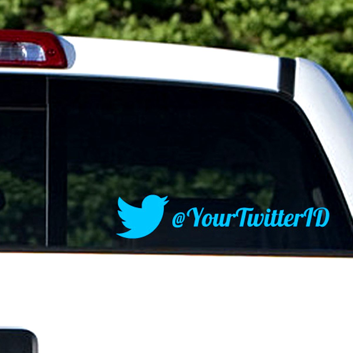 "3/"" x 10/"" CUSTOM VINYL LETTERING Personalized Text Car Window Wall Sticker Decal"