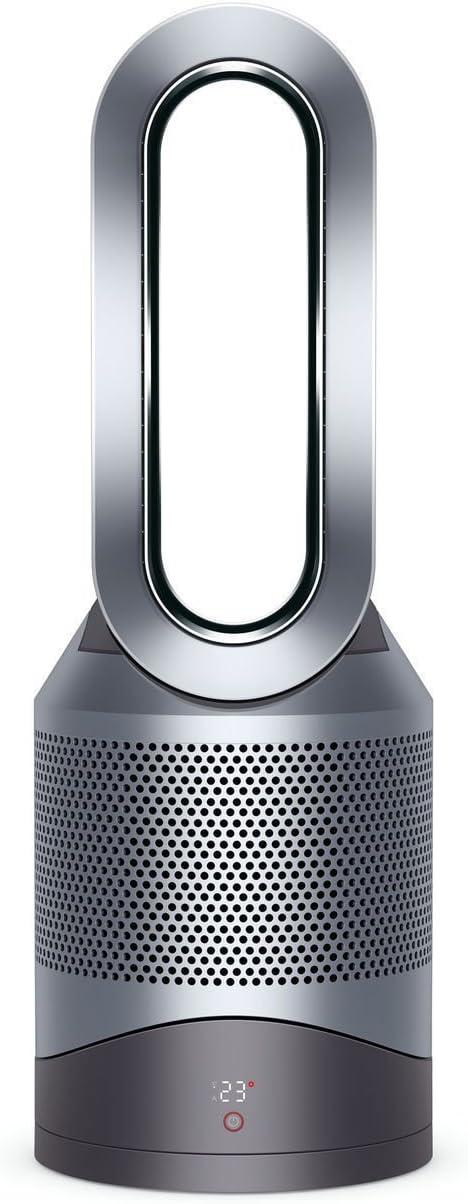 Dyson Pure Hot+Cool Purificador de aire/Calentador/Ventilador de mesa, plateado, 5025155031780
