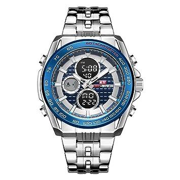 North King Reloj ElectróNico Relojes Moda Multi FuncióN Reloj ElectróNico Resistente Al Agua Hombres