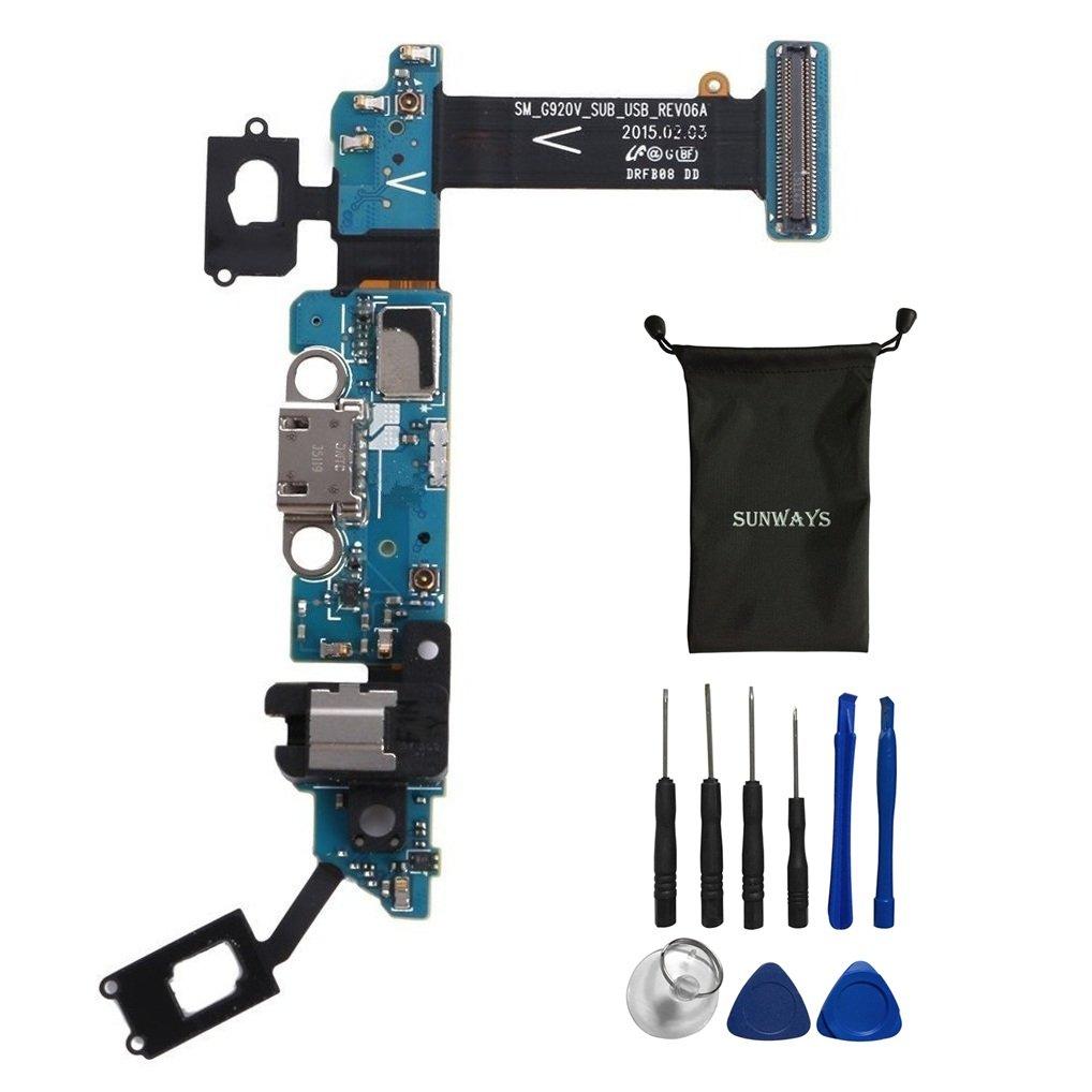 Puerto de Carga para Samsung S6 G920V Parts con Device Openi