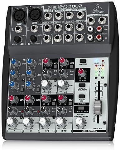 Behringer Xenyx 1002 - Mezclador para DJ (110 Db, 10-200000 Hz ...