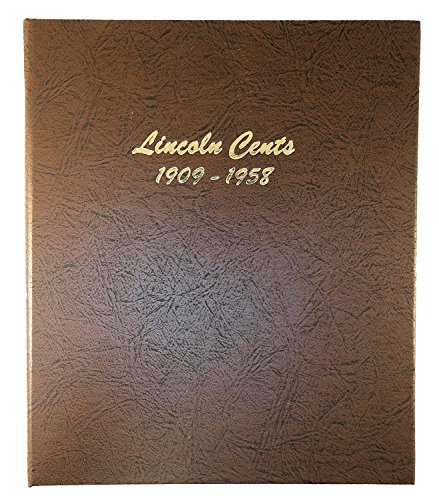 Dansco US Lincoln Wheat Cent Coin Album 1909-1958#7103