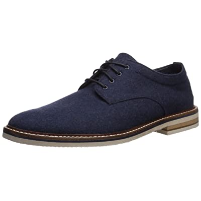 Bostonian Men's Dezmin Plain Oxford, Navy Wool, 130 M US | Oxfords