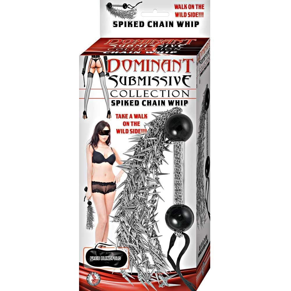 Amazon Nasstoys Dominant Submissive Collection Spiked Chain Whip Health Personal Care