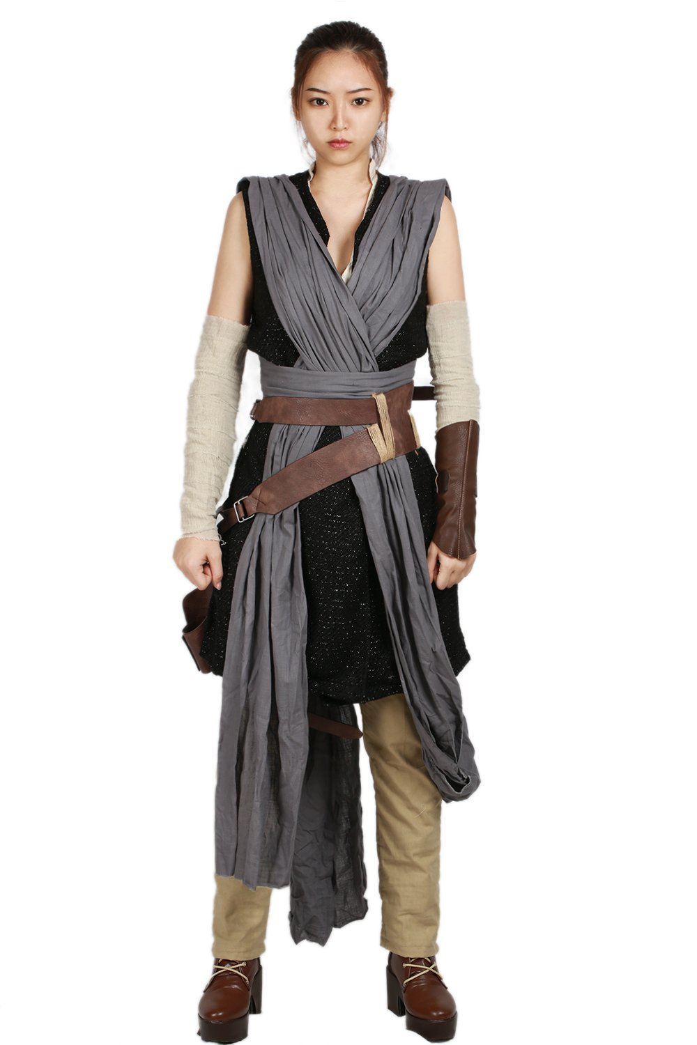 xcoser Deluxe Rey Costume Bag Belt Outfit Suit Cospaly accessories For Halloween L