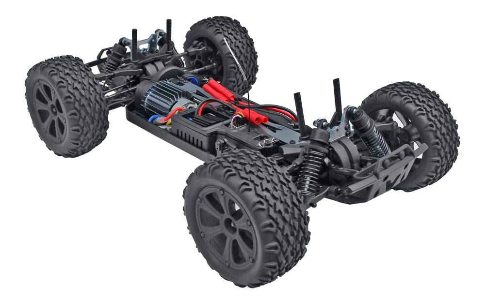 Redcat Racing Blackout XTE 1/10 Scale Electric Monster Truck with Waterproof Electronics, Red by Redcat Racing (Image #8)