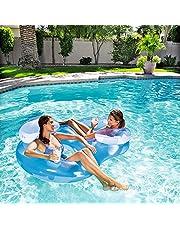 Bestway dubbele zwemstoel luchtbed zwemband zwemband waterbed #5256