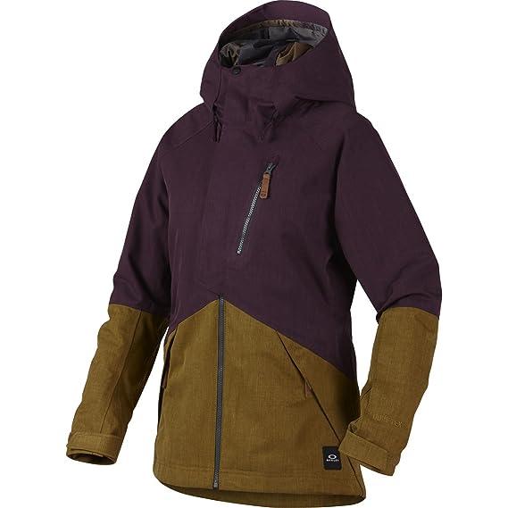 Oakley - Spellground - Chaqueta de Esquã - Purple: Amazon.es ...
