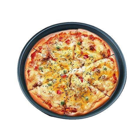 BESTonZON Pizza Pan/Tray - Bandeja para Horno Redonda de 12 ...