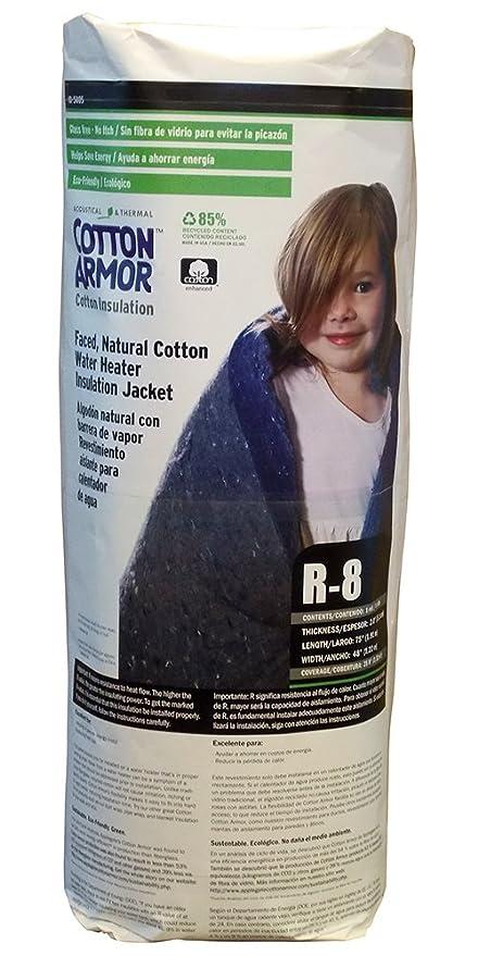 Applegate algodón Armor aislamiento R8 cara, algodón natural calentador de agua con aislamiento chaqueta