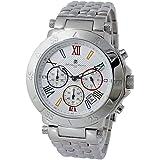 サルバトーレ マーラ SALVATORE MARRA クロノグラフ 腕時計 SM8005-WHCL [並行輸入品]
