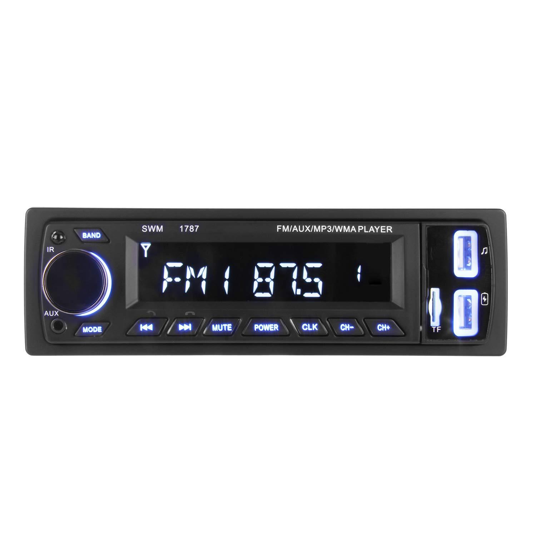 ieGeek. Bluetooth Autoradio MP3, USB/Receiver mit Audio Empfä nger/MP3-Player/UKW/FM Radio fü r Samsung/iPhone, USB/SD/AUX Freisprechfunktion und integriertes Mikrofon PKW Radio